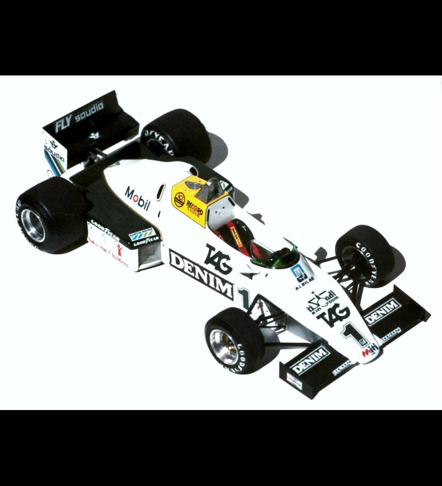 1/20 F1 Resin kit - Williams FW08C - Donington test -