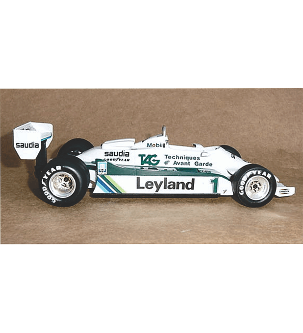 1/20 F1 Resin kit - Williams FW07C - 81´ Austrian GP -