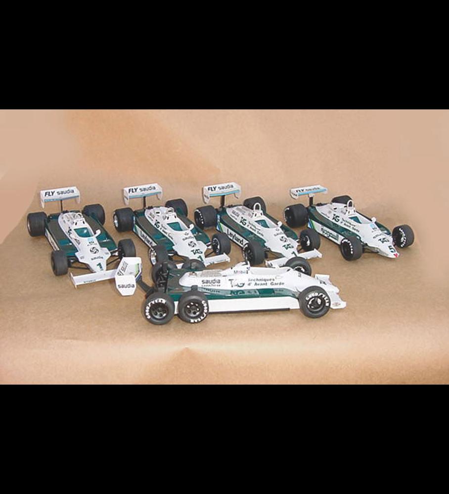 1/20 F1 Resin kit - Williams FW07C - 81´ USA GP -