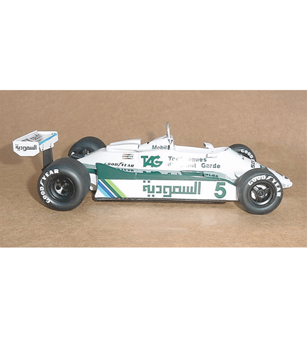 1/20 F1 Resin kit - Williams FW07C - 82´ South African GP -