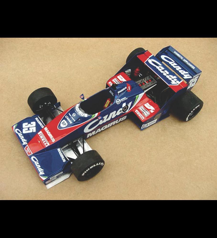 1/20 F1 Resin kit - Toleman TG183B -´83 Dutch GP