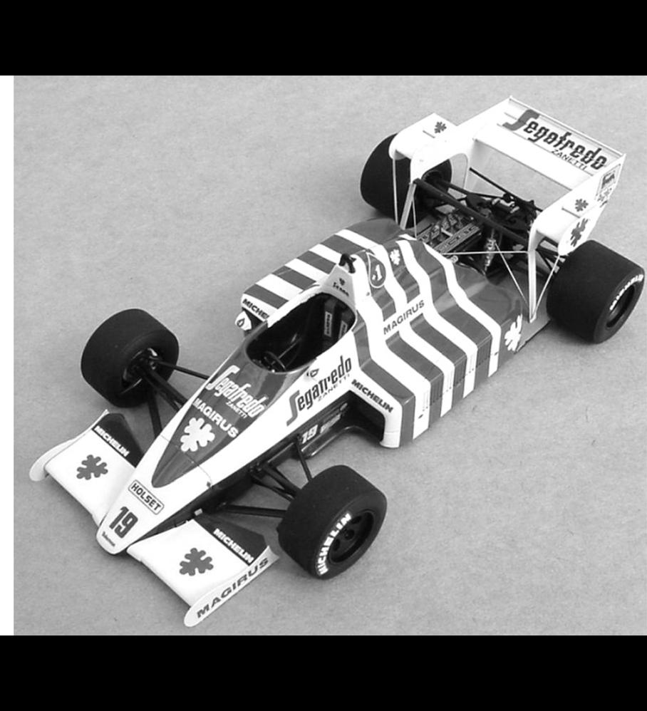 1/20 F1 Resin kit - Toleman TG184 -´84 Portugal GP