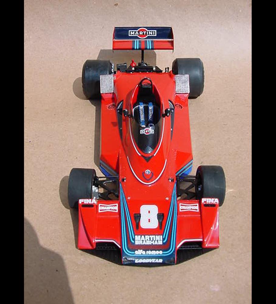 1/20 F1 Resin kit - Brabham BT45B 1978 Brazil GP - Limited reedition