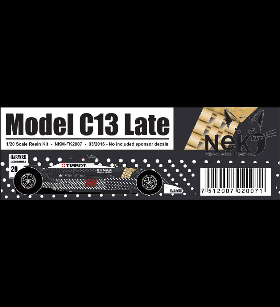 1/20 F1 Resin kit - Sauber C13  late version
