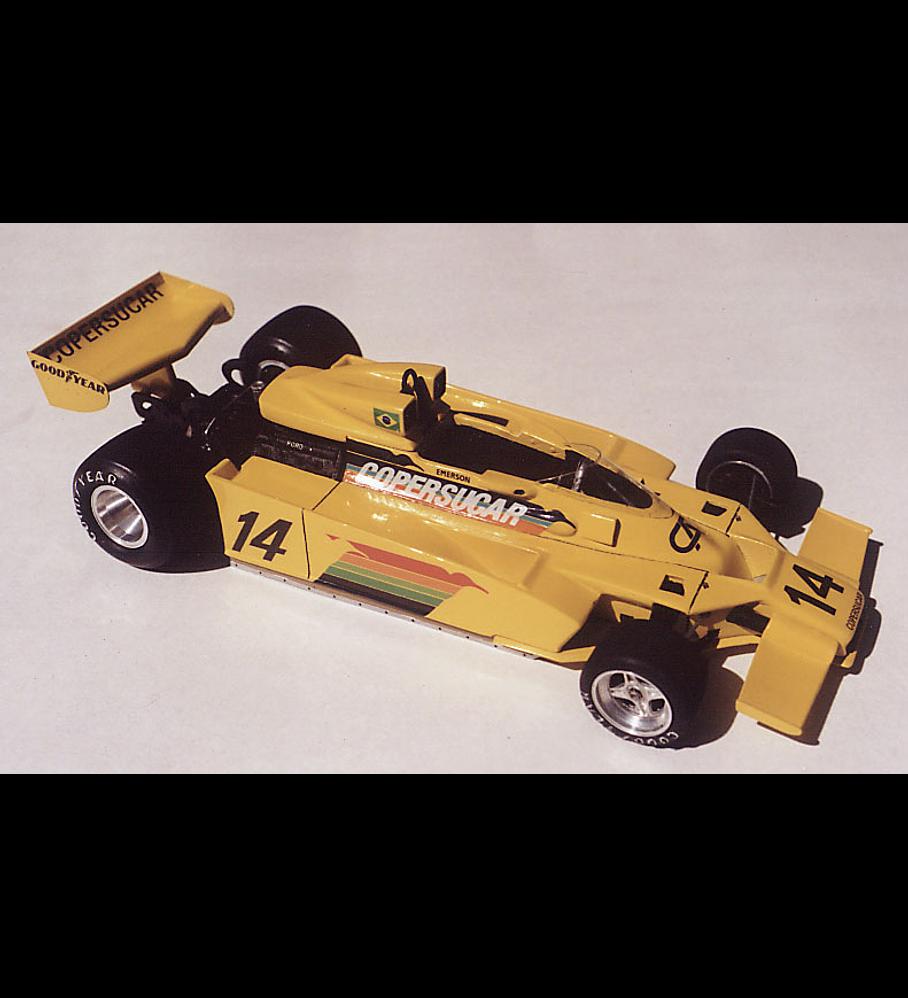 1/20 F1 Resin kit - Copersucar Fittipaldi F5A 1978 Brasilian GP