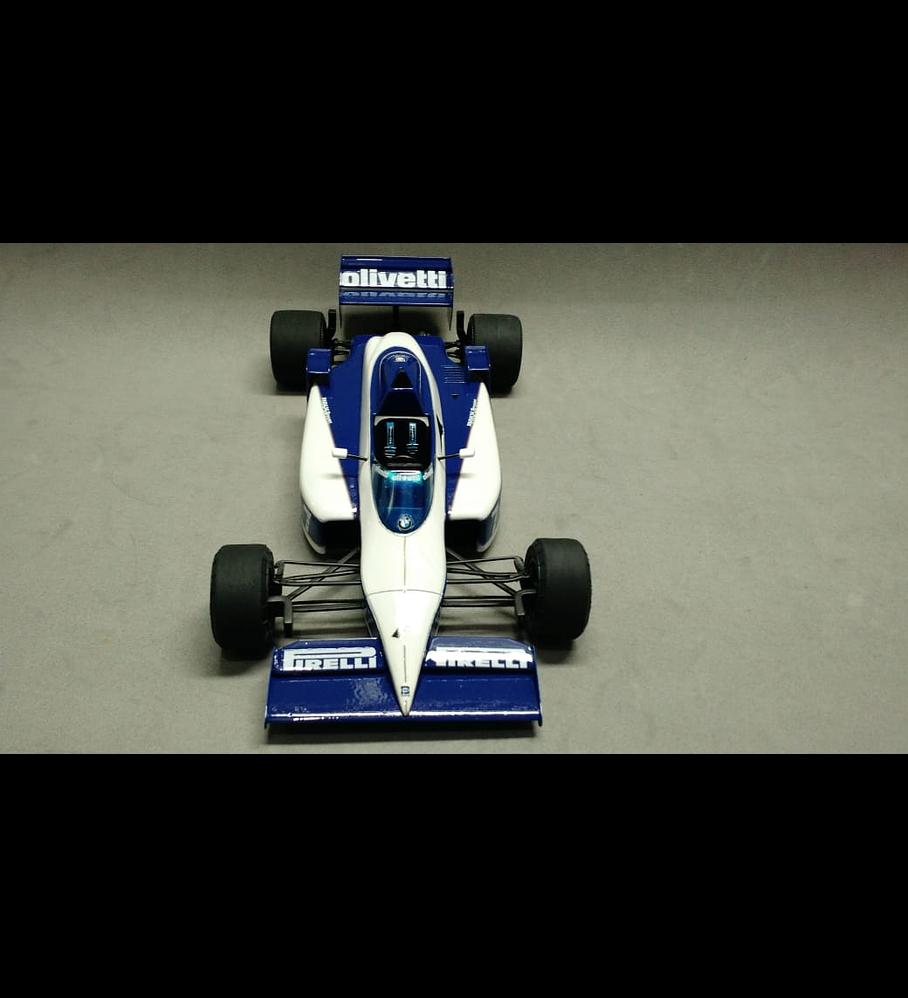 1/20 F1 Resin kit - Brabham BT54 GP Winner
