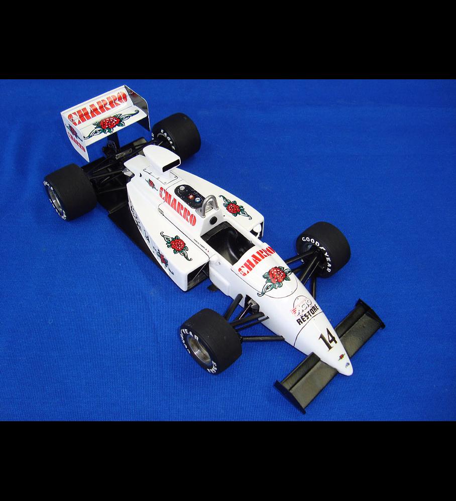 1/20 F1 Resin kit - AGS JH22 Belgium GP 1987