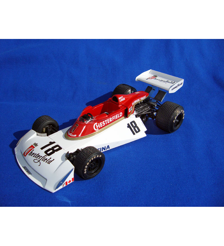 1/20 F1 Resin kit - Surtees TS19 1976 Belgium GP