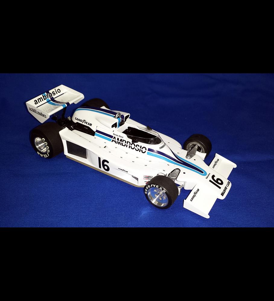 1/20 F1 Resin kit - Shadow DN8 1977 Long Beach GP