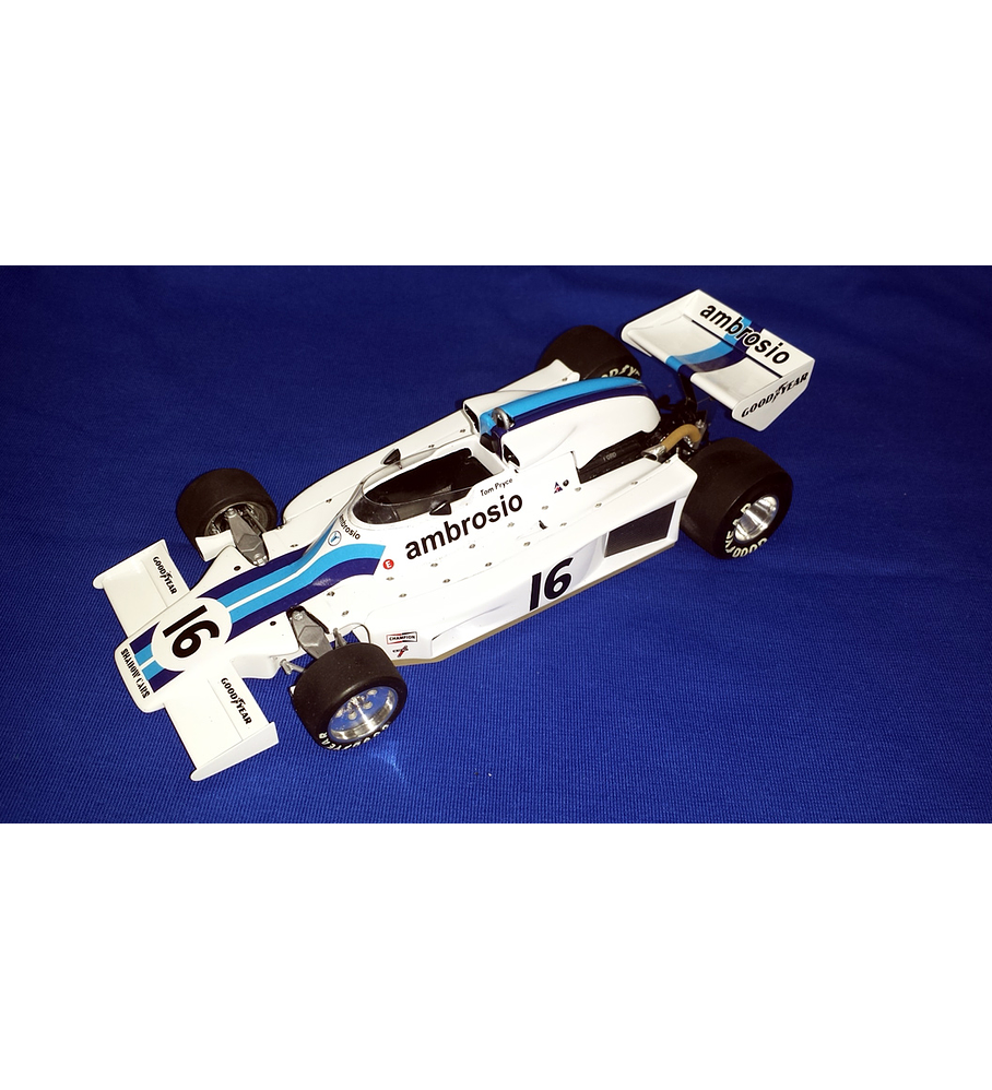 1/20 F1 Resin kit - Shadow DN8 1977 South Africa GP