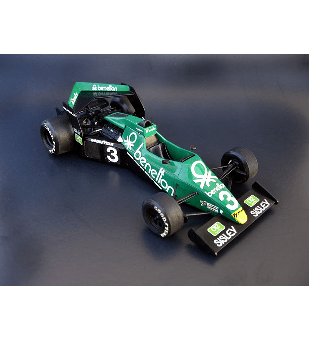 1/20 F1 Resin kit - Brabham BT54 GP Winner