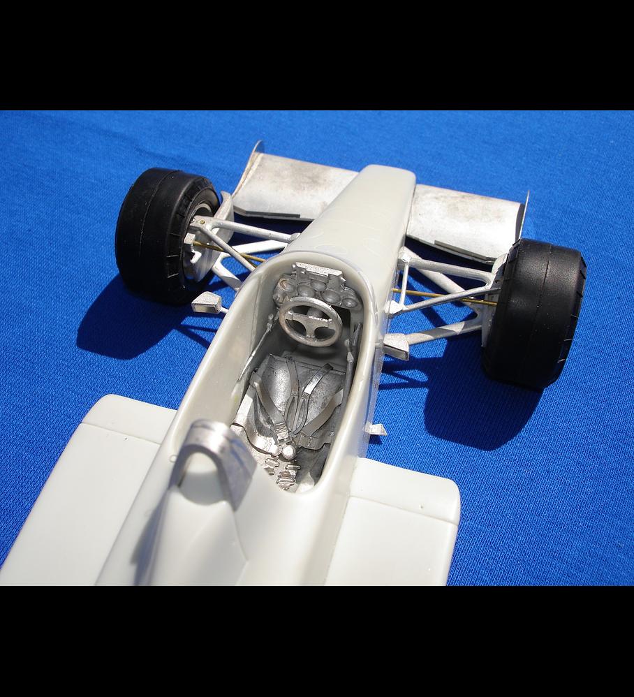 1/20 F1 Resin kit - Toleman TG 185  1985 GermanGP Pole car