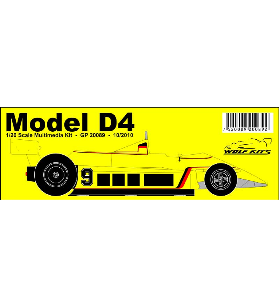 1/20 F1 Resin kit - ATS D4