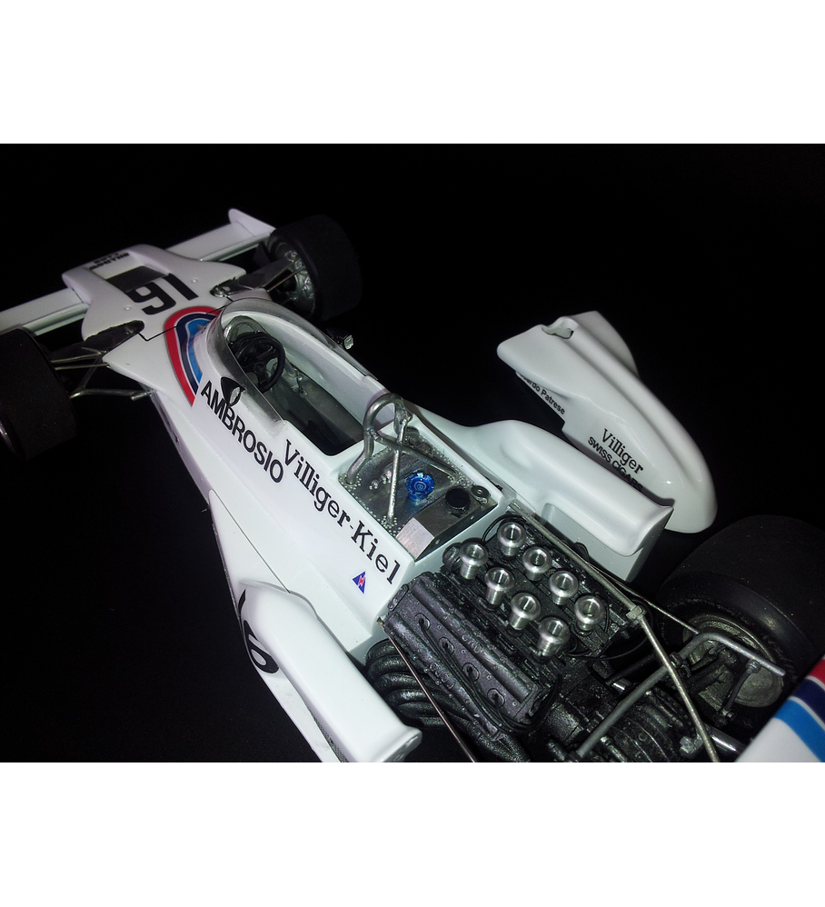 1/20 F1 Resin kit - Shadow DN8 1977 Japan GP