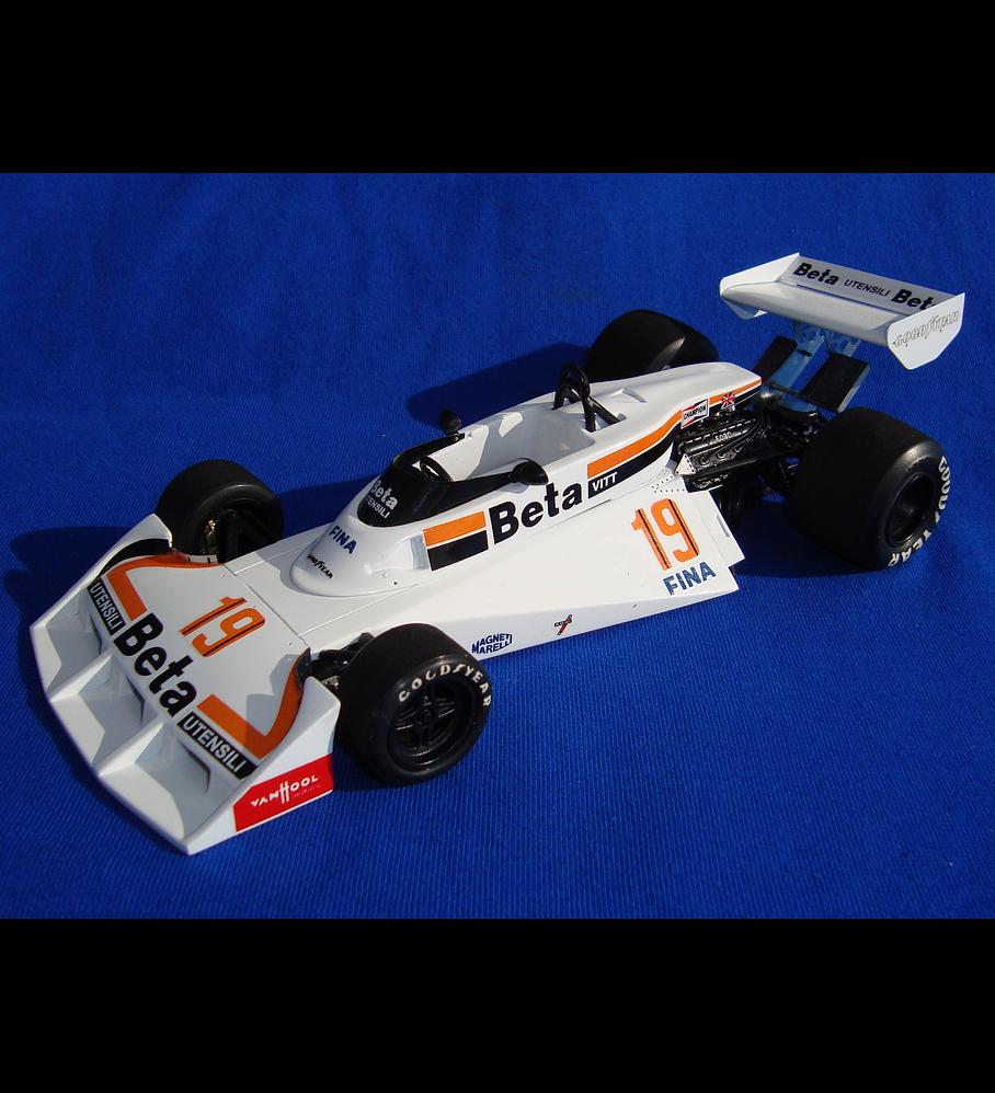 1/20 F1 Resin kit - Surtees TS19 1977 Belgium GP