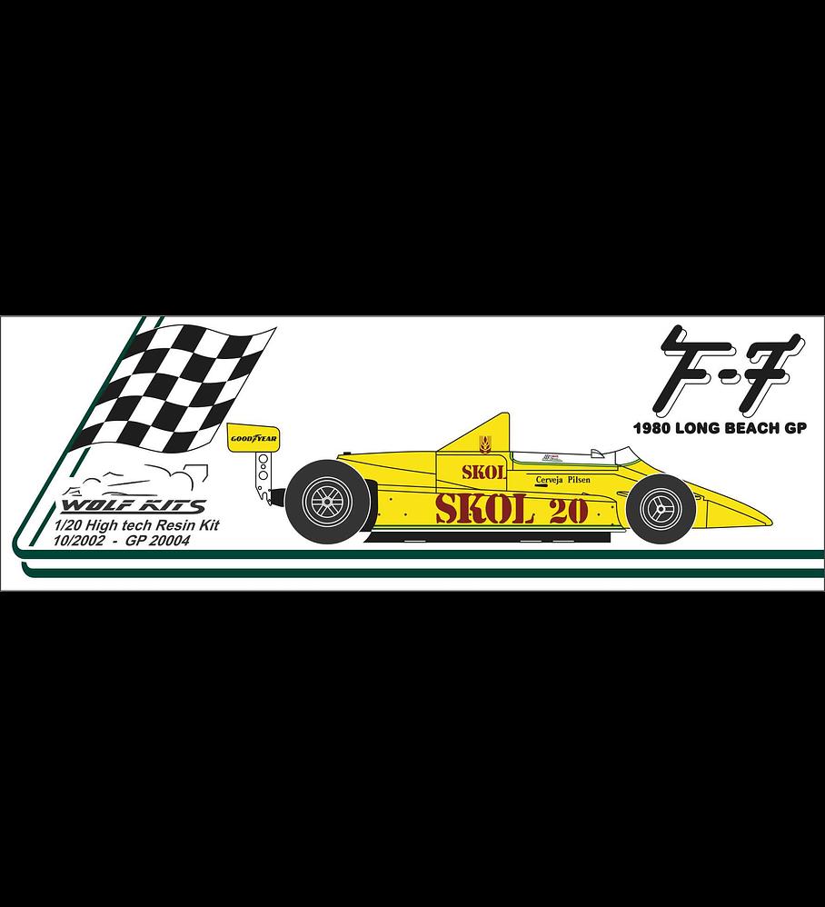1/20 F1 Resin kit - Fittipaldi F7