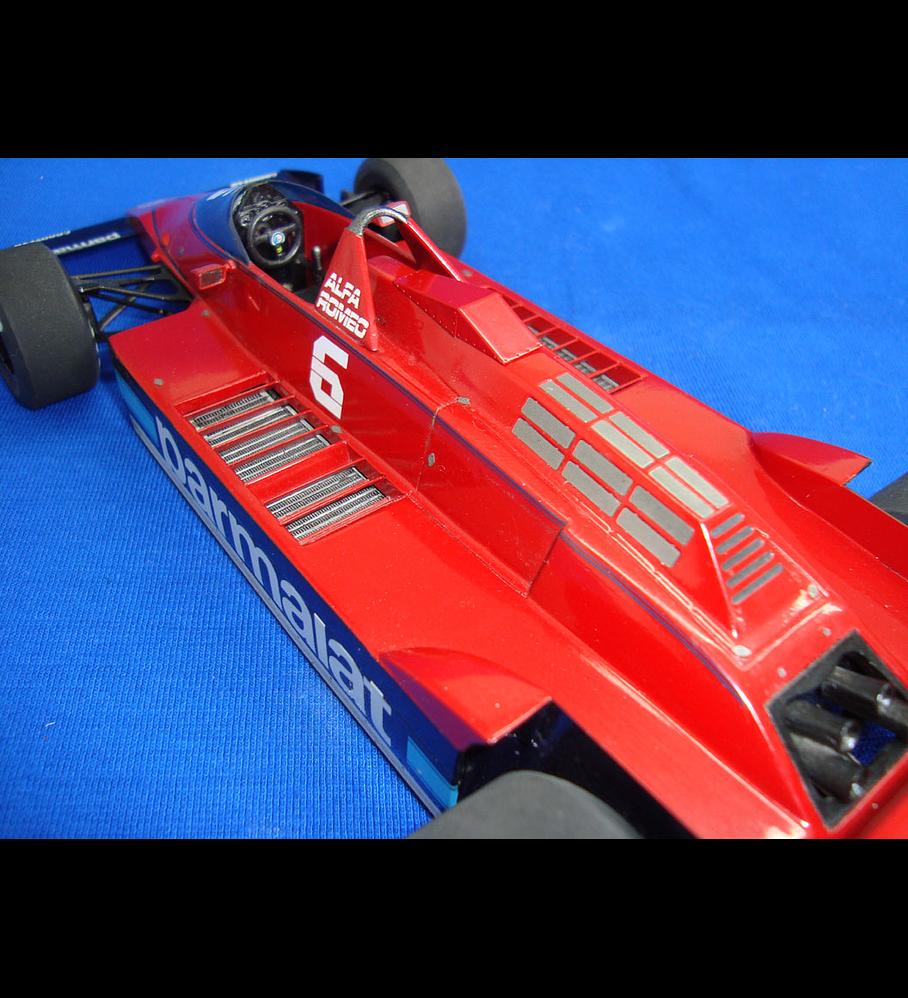 1/20 F1 Resin kit - Brabham BT48 1979 Brazil GP
