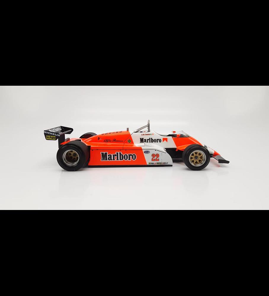 1/20 F1 Resin kit -Alfa Romeo 182 - GP Monaco 1982