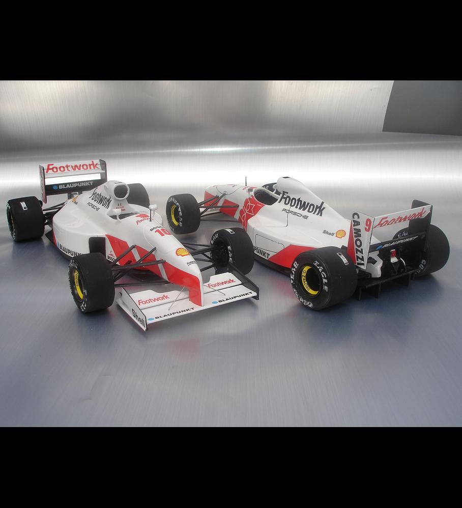 1/20 F1 Resin kit - Footwork FA12