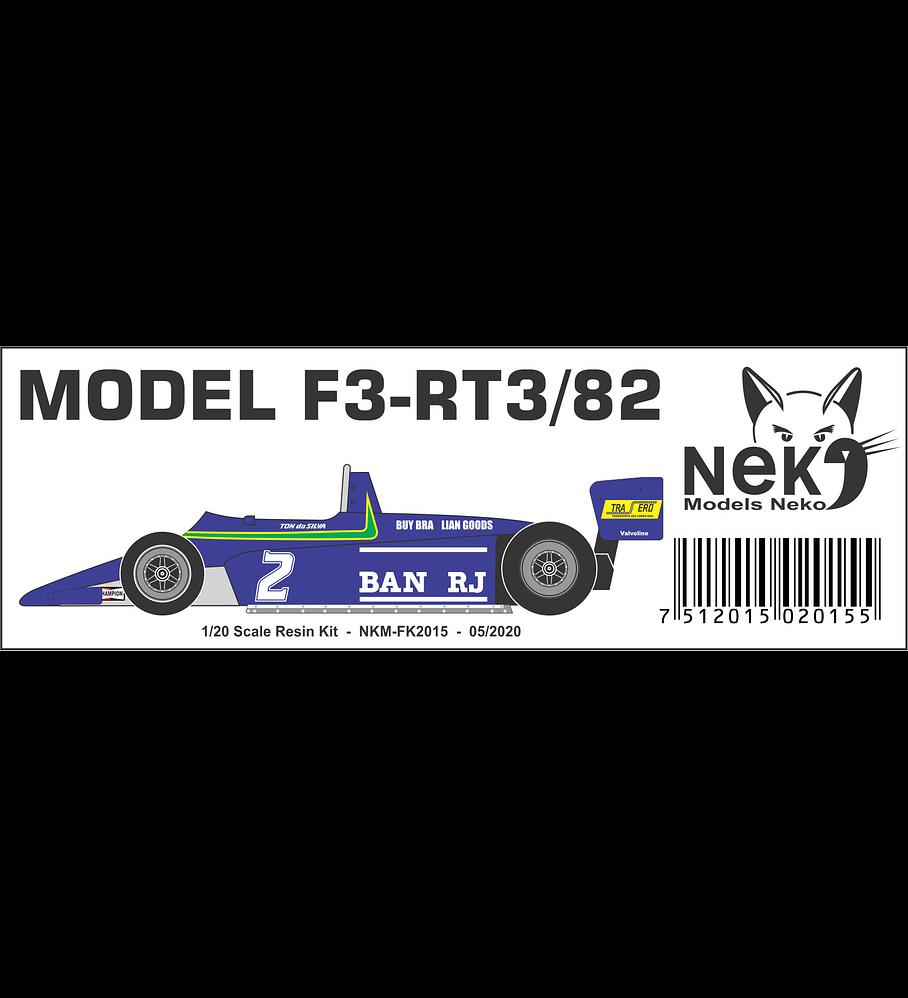 1/20 F1 Resin kit -Ralt F3 RT3 Truxxon GP 82