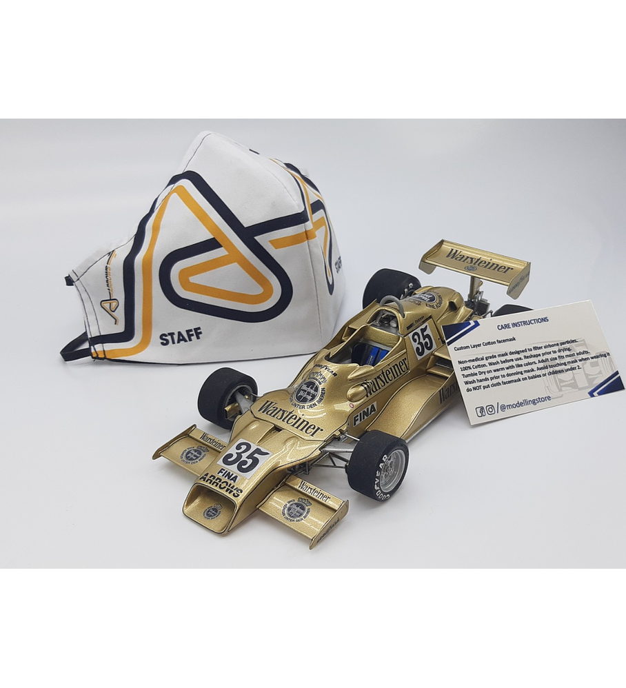1/20 F1 Resin kit - Arrows Fa1 1978 South Africa GP