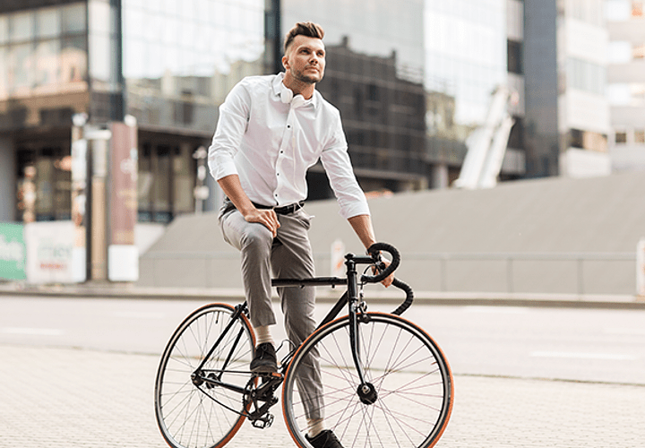 How to Get to the Office on Two Wheels