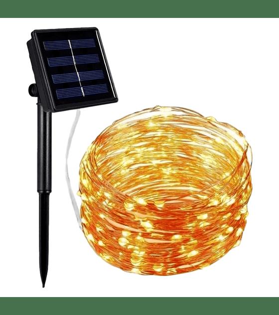 Cadena de cobre: 100 luces, 10 metros