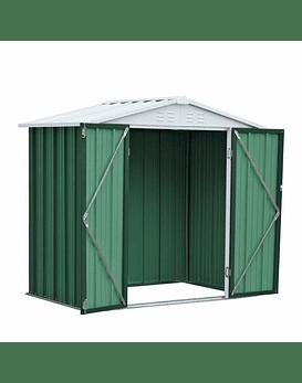 Bodega Jardin 198x126x212 HOMESHED color Verde