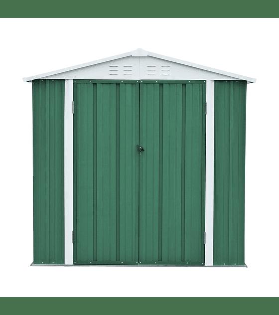 Bodega Jardín 198x126x212 Homeshed Color Verde