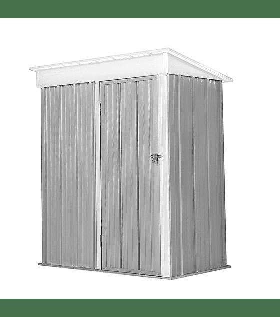Bodega Jardin 162x92x180 BOXSHED color Gris