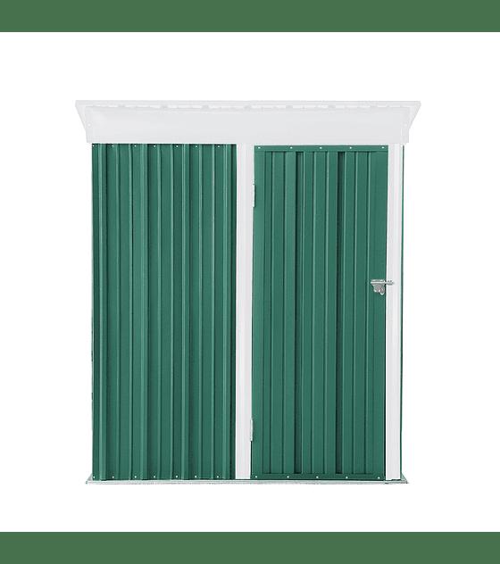 Bodega Jardin 162x92x180 BOXSHED color Verde