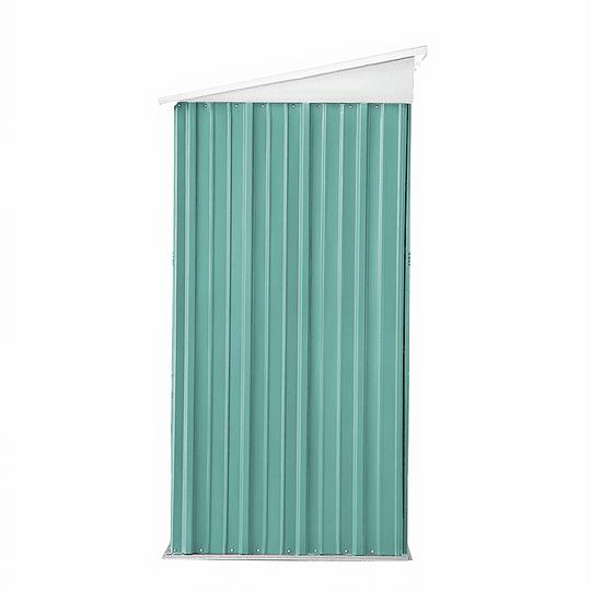 Bodega Jardín 162x92x180 Boxshed Color Verde Menta
