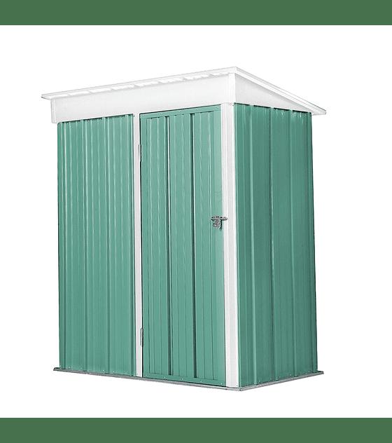 Bodega Jardin 162x92x180 BOXSHED color Verde Menta