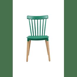 Silla Diseño Windsor Verde
