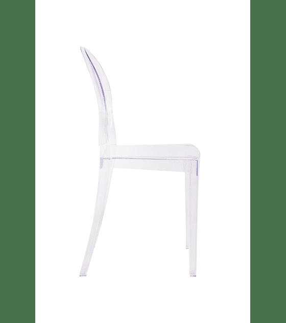 Silla Diseño Transparente Casper - Simple