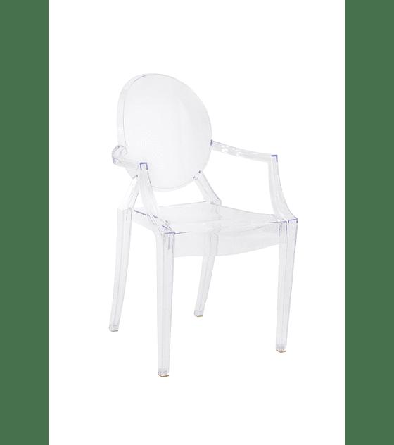 Silla Diseño Transparente Casper