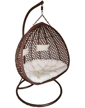 Silla Colgante XL - Chocolate