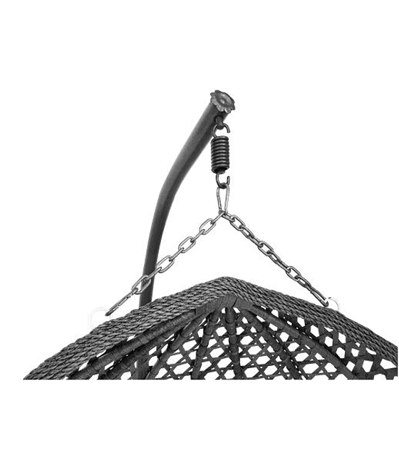 Silla Colgante Doble XL Rattan - Gris