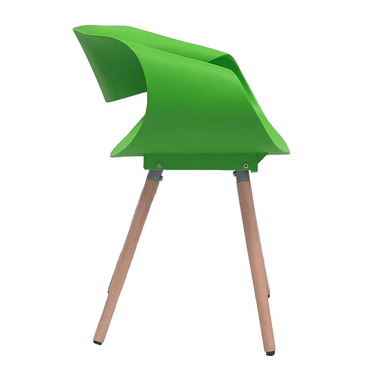 Silla Diseño Twist - Verde
