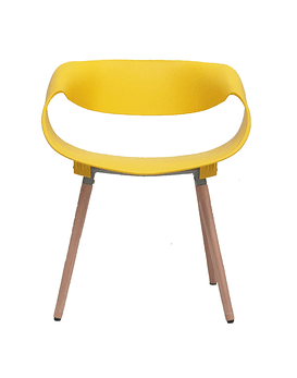 Silla Diseño TWIST - AMARILLO