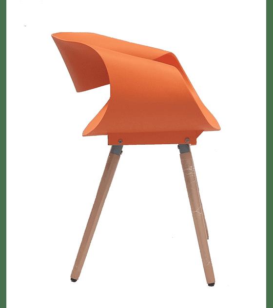 Silla Diseño TWIST - NARANJO