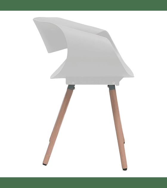 Silla Diseño TWIST - BLANCO