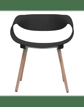 Set Silla Diseño TWIST - NEGRO