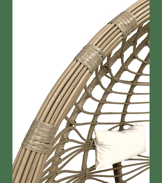 Silla Colgante Bamboo Doble XL Rattan - Caramelo