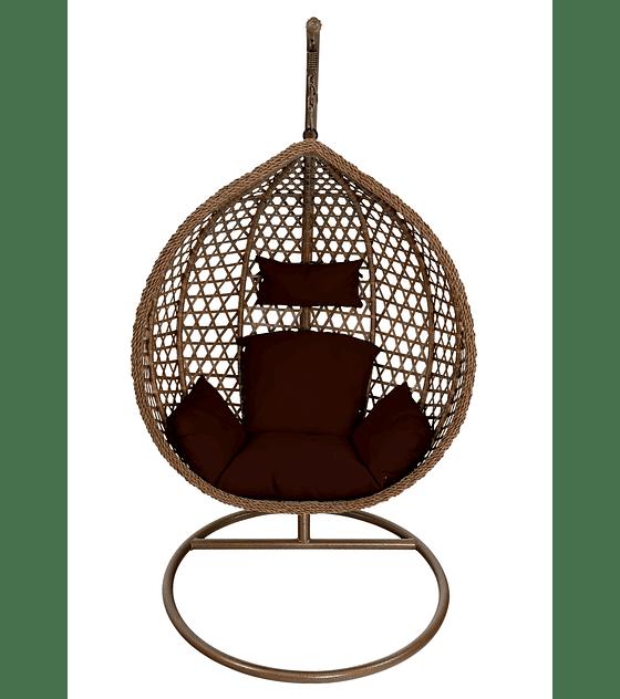 Silla Colgante M - Chocolate