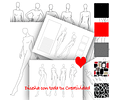 Bocetos de Moda para Imprimir y Diseñar