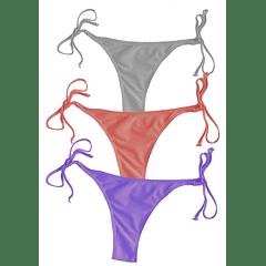 5 TALLAS Bikini Colaless tiritas