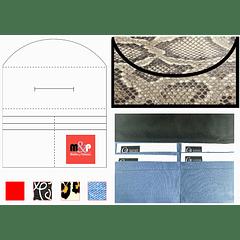 Billetera rectangular