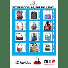 Set de Mochilas y Bolsos