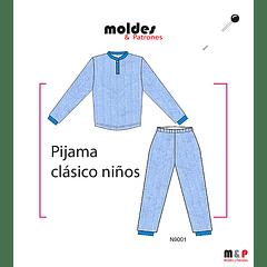 Pijama clásico Niño